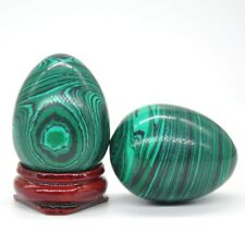 30x40MM Malachite Turquoise Quartz Crystal Sphere Healing Gemstone Shpere Egg
