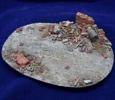 Alliance Model Works 1:35 Small European Ruin Resin Diorama Base #LW35001