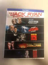 Jack Ryan 5-Movie Collection ( Blu-ray Includes Slipcover) New/Sealed Ships Free