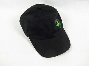 EBAY Green Team Embroidered Adjustable Black Baseball Cap Hat
