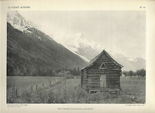 HAUTE-SAVOIE = CHALET ALPESTRE = CHAMONIX + Petit Grenier = photo GRAVOT