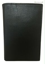 New Men's Osprey London 'Alder' Black Leather Bifold Card Wallet, Boxed