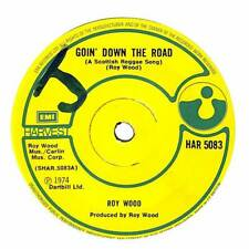 """Roy Wood - Goin' Down The Road (A Scottish Reggae Song) - 7"""" Record Single"""
