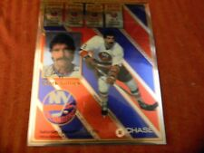 CLARK GILLIES #9 RETIREMENT Ceremony 8 x 10 CHROME PHOTO Card NY ISLANDERS HOF!