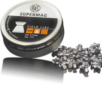 RWS Supermag Air gun Pellet .177/4.50mm Qty 500  Free P&P