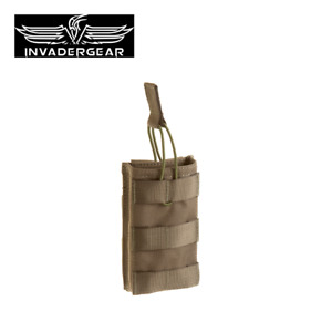INVADERGEAR Direct Action Single Mag MOLLE Pouch Opentop Tactical Airsoft Army