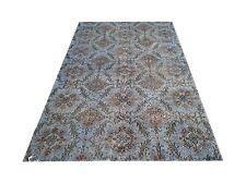 "6'11"" x4'1""  Vintage OUSHAK light blue  color reform Overdyed rug carpet  retro"