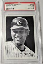 Derek Jeter 2008 Upper Deck Goudey PSA 10 Yankees