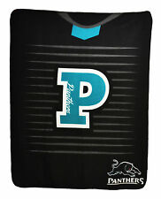NEW LARGE Licensed NRL Penrith panthers Rugby League Polar Fleece Throw Blanket