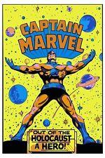 CAPTAIN MARVEL OUT Of The HOLOCAUT... A HERO THIRD EYE PRINT Marvelmania