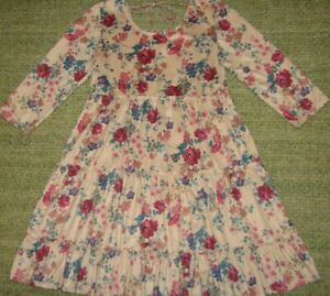 JUSTICE Beautiful Country Floral dress Girls 12