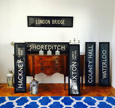 LONDON BRIDGE - LONDON Original Vintage Bus Blind 70s/80s 5/5 ***** ETSY SELLER!