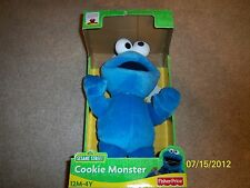 BRAND NEW! SESAME STREET COOKIE MONSTER PLUSH FIGURE!