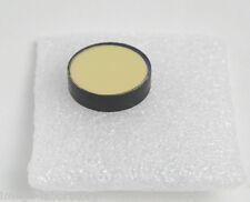 334nm UV bandpass filter 10nm FWHM 25% max transmission at 334nm. 25mm dimater.