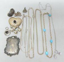 Jewelry Lot 52.0 Grams 925 Sterling Silver Scrap