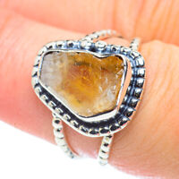 Citrine 925 Sterling Silver Ring Size 7.5 Ana Co Jewelry R57464F