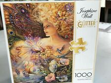 "1000pc Josephine Wall's GLITTER ""CRYSTAL ENCHANTMENT  Beautiful"
