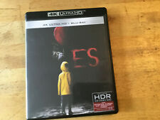 ES  [ BLU RAY / 4K Ultra HD ]  Stephen King  Finn Wolfhard Bill Skarsgard