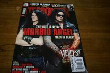 TERRORIZER Magazine + CD #210 Morbid Angel Autopsy In Flames Ulver Chthonic Jesu