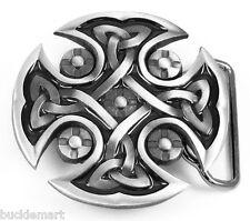 CELTIC KNOT Cross Belt Buckle Irish Scottish gift