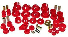 Prothane Total Suspension Bushing Kit for 08-10 Subaru Impreza WRX STi Only Red