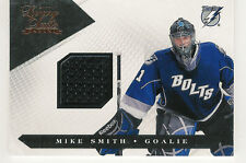 2010-11 PANINI LUXURY SUITE MIKE SMITH TAMPA BAY LIGHTNING GAME USED JERSEY /599