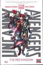 UNCANNY AVENGERS VOL #1 THE RED SHADOW HARDCOVER Remender Marvel Comics #1-5 HC