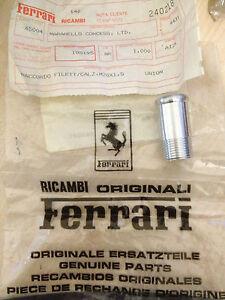 New Genuine Ferrari RACCORDO FILETT/CALZ.M20X1,5 ( Aluminium Union ) 105195