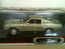 YAT MING 1968 SHELBY GT-500 KR DELUXE EDITION DIE CAST 1:18 HAND MADE