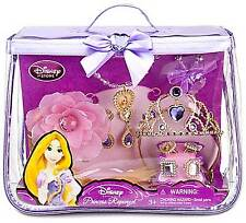 Disney Tangled Rapunzel Costume Tiara Accessories 10 Piece Set