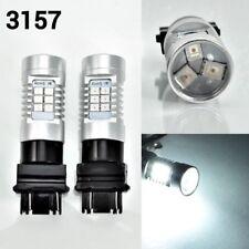 T25 3157 3057 4157 Peformance Auto 21 SMD LED White Rear Signal K1 For Dodge AK