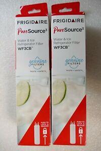 Frigidaire WF3CB Pure-Source 3 Refrigerator OEM Water Filter Genuine 2 Pack