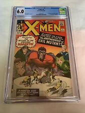 Xmen #4 CGC 6.0 1st Quicksilver, Scarlet Witch, Toad Off White/White Pages. MCU