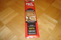 "#2 two Stick n Step Anti-Skid Heavy Duty Adhesive Strips 2 3/4"" x 14""  Black NEW"
