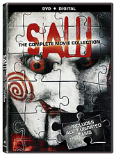 Saw: The Complete Movie Collection [DVD + Digital] (2014)
