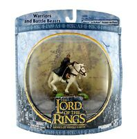 Lord of the Rings Armies of Middle-Earth - Merry in Rohan Armor on Pony Figurine