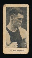 1927 Cig. Bigott (Venezuela) Same Image- E211 YORK CARAMEL -#49 Carl Augustine