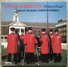 ROYAL CORPS OF SIGNALS - THE OLD BRIGADE - DR68 - MILITARY BAND LP RECORD