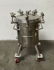 Precision 50 Liter 316l Stainless Steel Non Jacketed Reactor 50 Psi