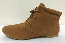 Ex Atmosphere Brown Camel Lace Up Boots Variety Sizes *Sale Price*