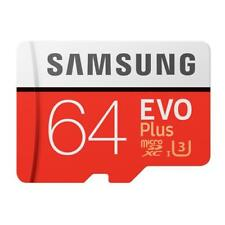 64gb Samsung Memory EVO Plus Micro SD Card Class 10 Adapter 4 Proof Protection