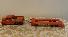 Matchbox King Size No. 8 SCAMMEL 6x6 Tractor & Trailer LAING Excellent!