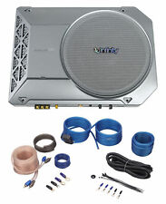 "Infinity Kappa BASSLINK SM 8"" 125w RMS Powered Underseat Car/Truck Subwoofer+Kit"