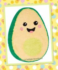 Awesome Avocado! Cute & Quirky Happy Avocado Rug Soft & Fluffy! - Sass & Belle