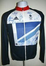 Team GB London 2012 Olympics Cycling Jersey Signed By All Velodrome Gold Winners