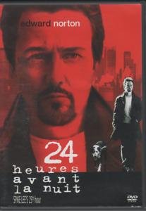 24 Heures Avant La Nuit Dvd Edward Norton