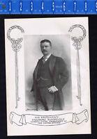 President Theodore Roosevelt  -1907 Irish-American Historical Print