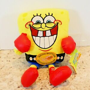 SpongeBob SquarePants Bikini Bottom Boxing Championship Plush 2006 Nickelodeon