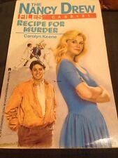 Recipe for Murder No. 21 by Carolyn Keene (1989, Paperback)