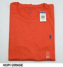 New Polo Ralph Lauren Mens CrewNeck Solid Short Sleeve T-Shirt-Standard Fit